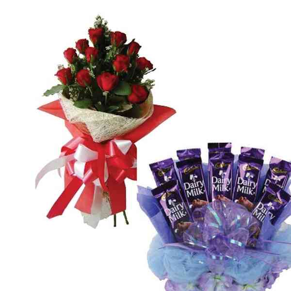 12-Red-Roses-Bouquet-diary-