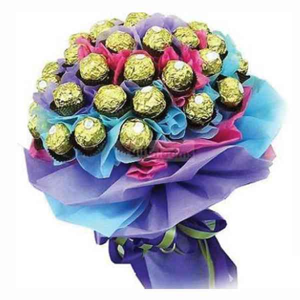 24-Pcs-Ferrero-Rocher-Bouqu
