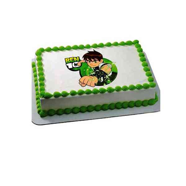 Ben-10-Cake