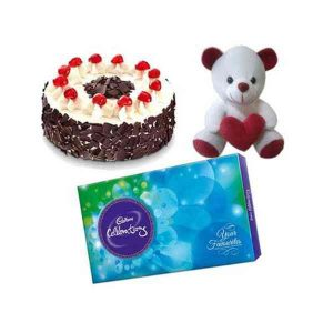 Cake,-Chocolate-&-Teddy