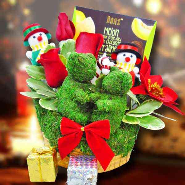 Christmas-Flower-Gift