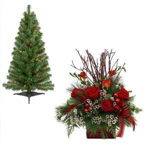Christmas-Flowers-With-Xmas