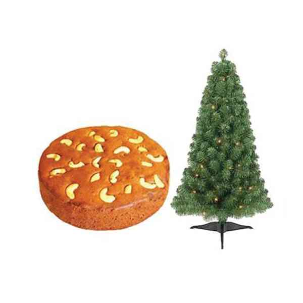 Christmas-Plum-Cake-With-Tr