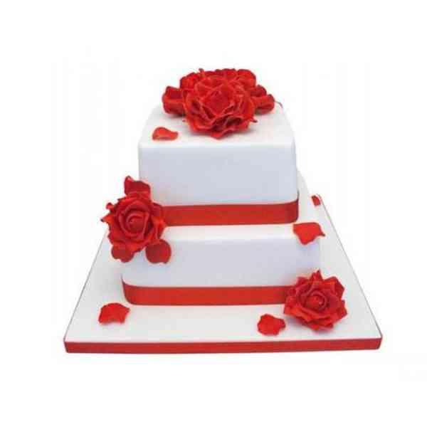 Eggless-2-Tier-Vanilla-Cake