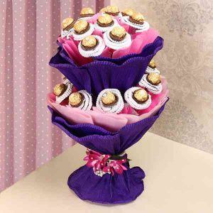 Ferrero-Rocher-Bouquet