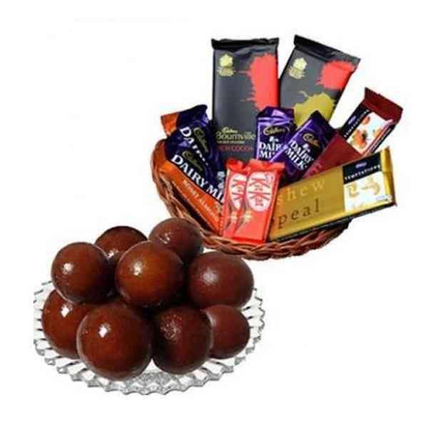 Gulab-Jamun-With-Chocolate-