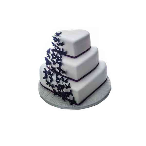 Heart-Shape-3-Tier-Cake