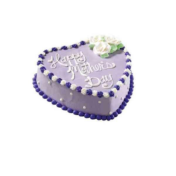 Heart-Shape-Cake-For-Mom