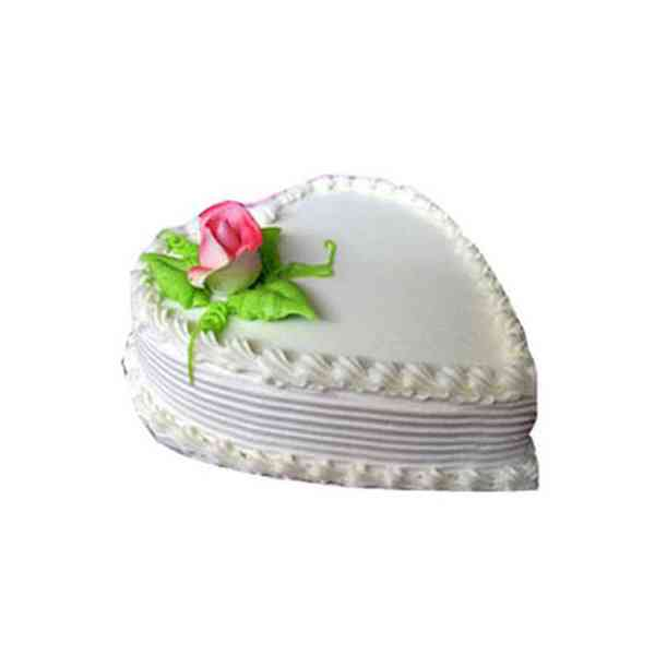 Heart-Shape-Vanilla-Cake