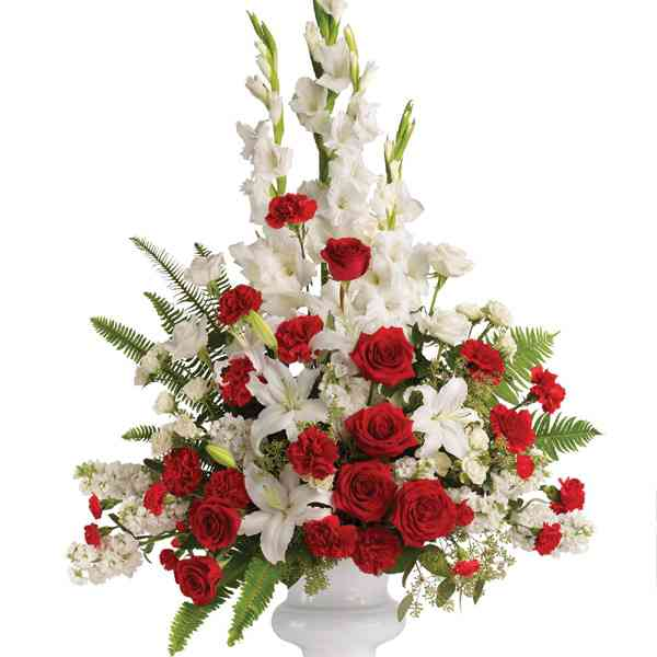 Lilies-&-Roses-Vase