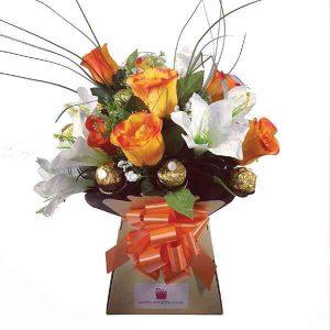 Lilies-With-Ferrero-Rocher