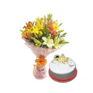 Mix-Lilies-With-Vanilla-Cak