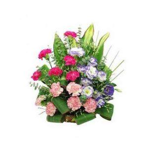Mixed-Carnation-Basket