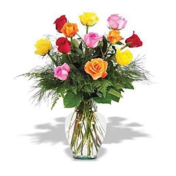 Mixed-Roses-Vase