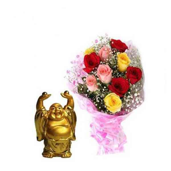 Mixed-Roses-With-Laughing-B