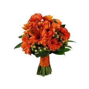 Orange-Gerbera-Bouquet