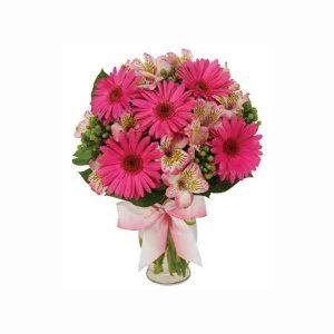 Pink-Gerbera-Bouquet