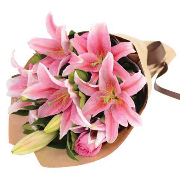 Pink-Lily-Bouquets