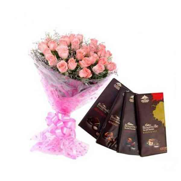 Pink-Roses-With-Bournville