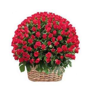 Red-Roses-Basket-500-Flower
