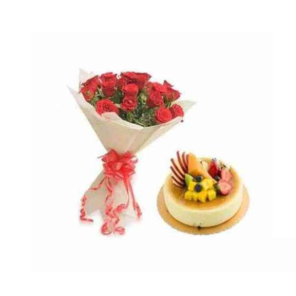 Red-Roses-With-Fresh-Fruit-