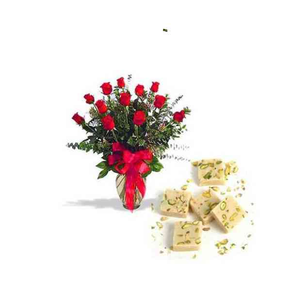 Red-Roses-With-Mawa-Burfi