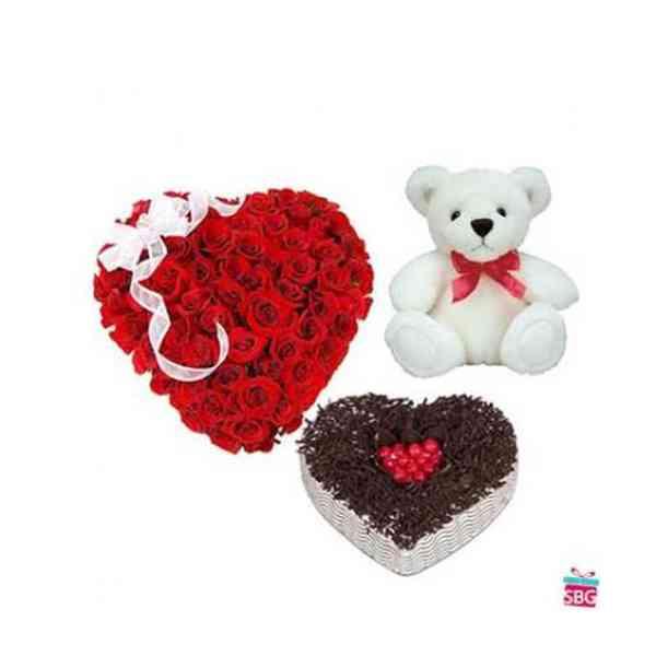 Roses-Heart,-Heart-Cake-Wit