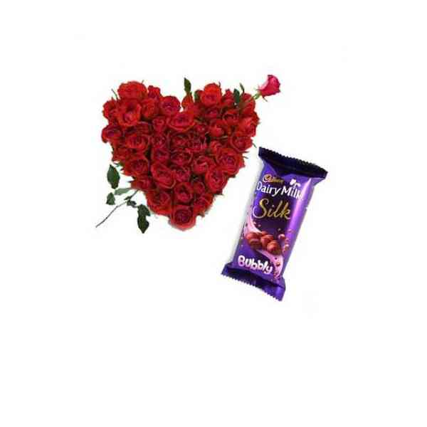 Roses-Heart-With-Cadbury-Si