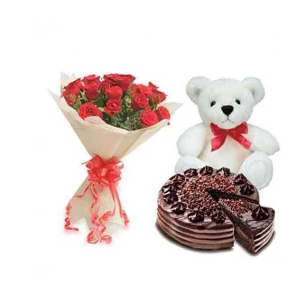 Roses,-Teddy-With-Choco-Chi