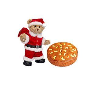 Santa-Claus-With-Plum-Cake