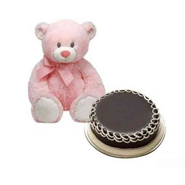 Teddy-With-Cake
