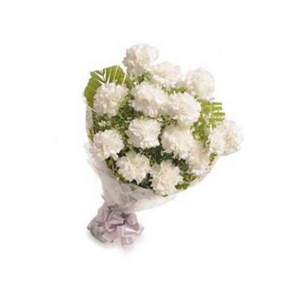 White-Carnation-Bouquet