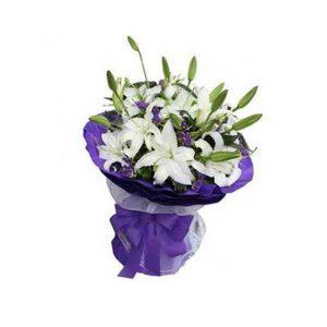 White-Lilies-Bouquet