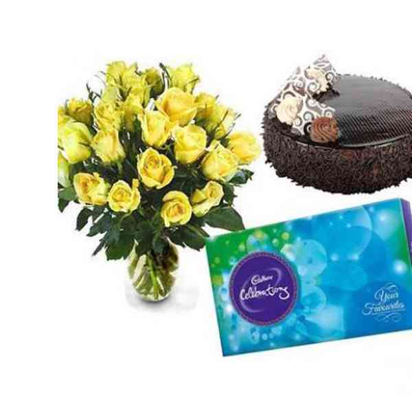 Yellow-Roses,-Chocolate-Wit