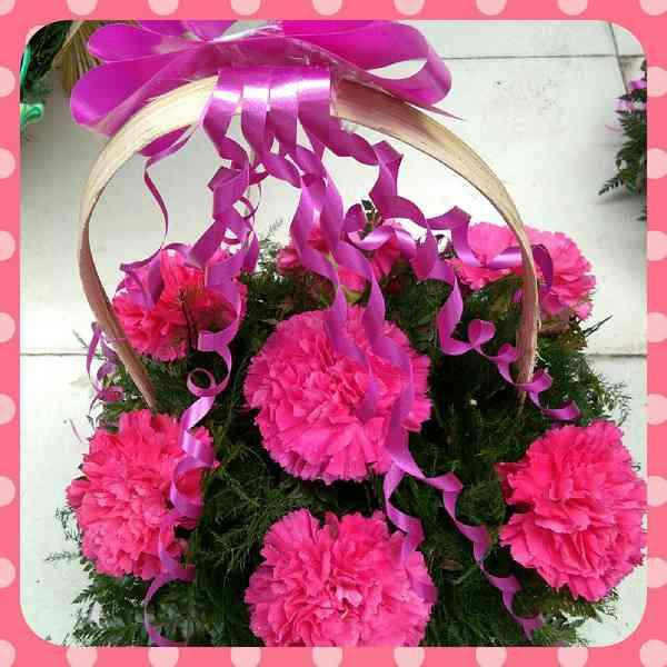 pink-carnations-basket